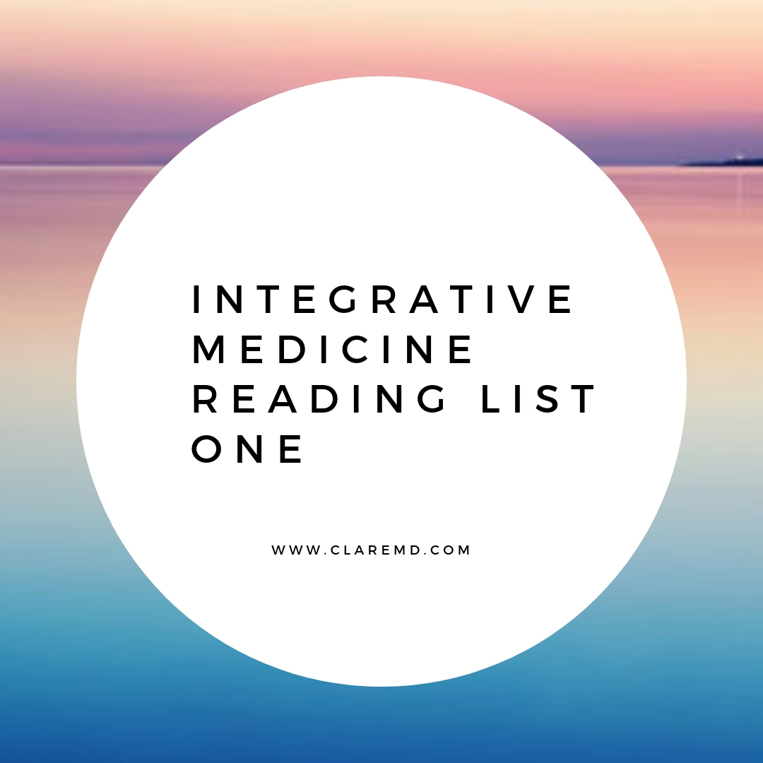 Integrative Medicine Reading List